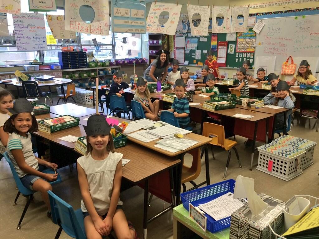 Arrr!  Pirate Day in 2nd Grade!