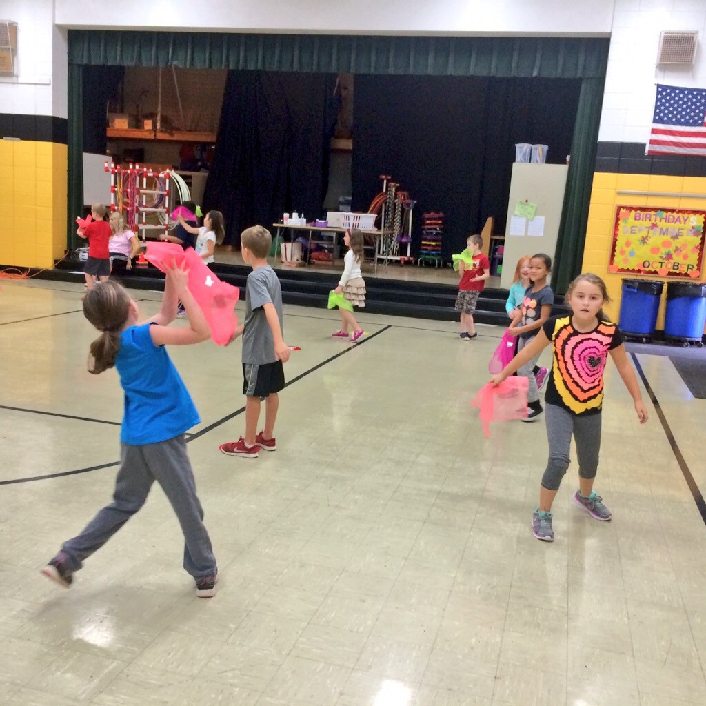Getting Active in Physical Education class
