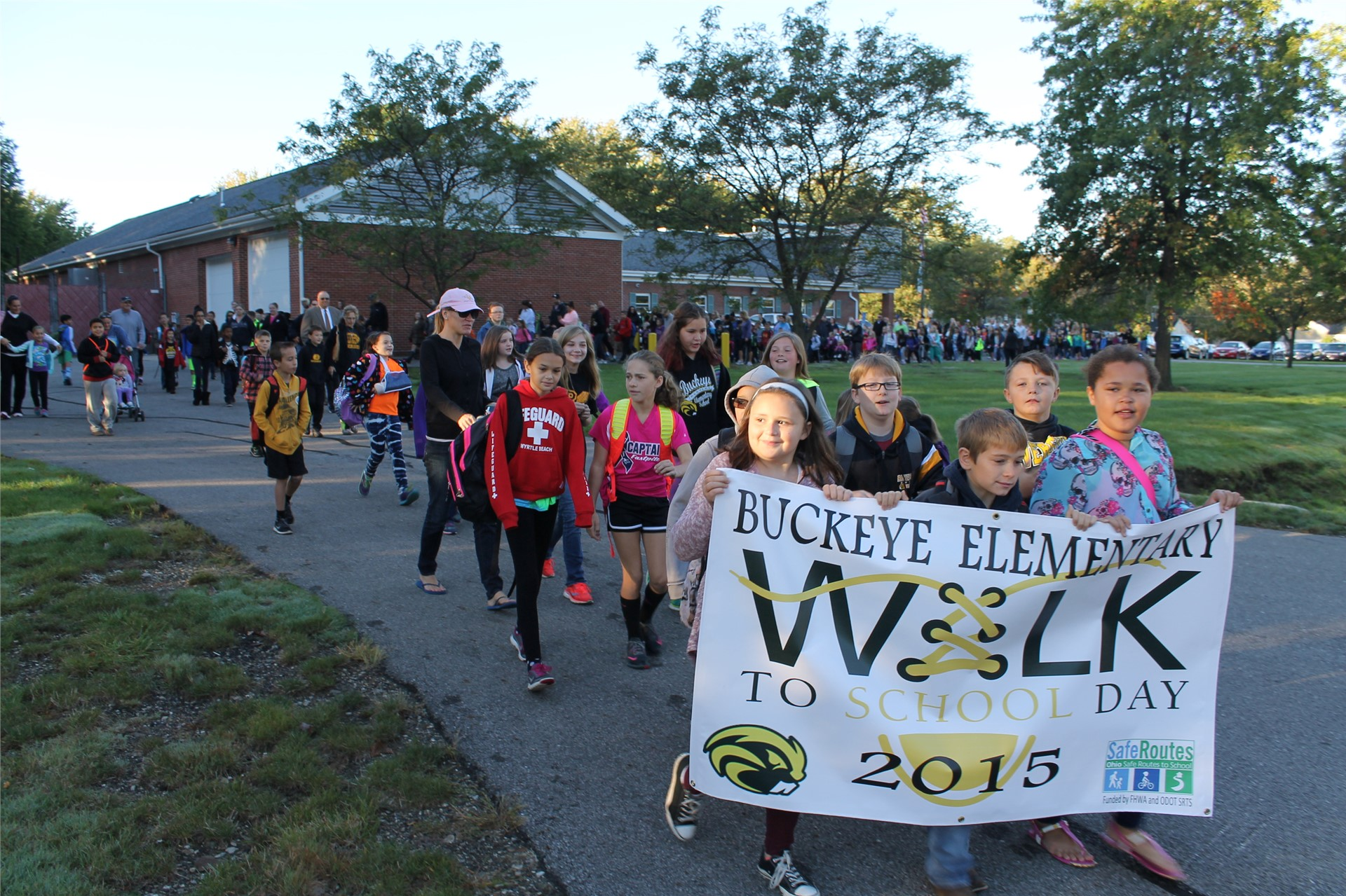 Walk to School Day - Thank you!