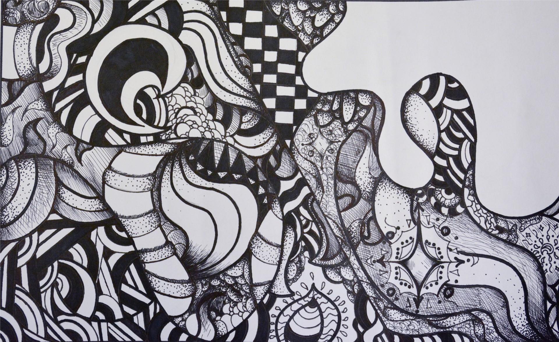 Alyssa Grooms- Zentangle