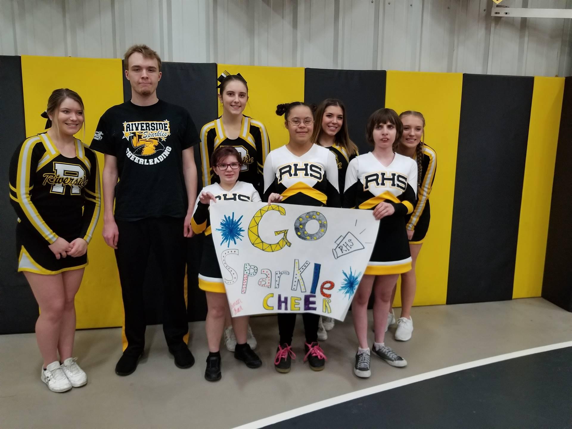 Sparkles Cheer Squad
